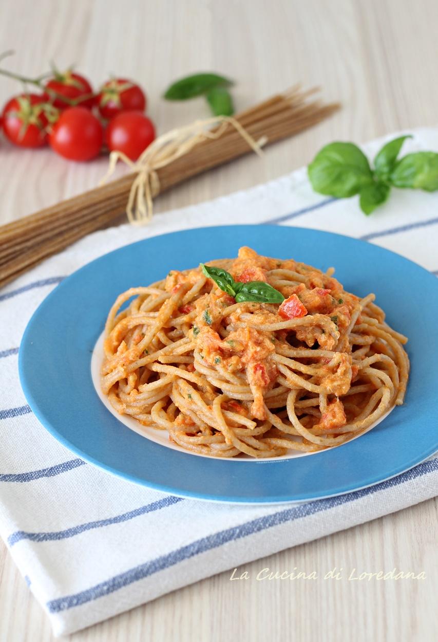Pasta integrale con crema di tonno la cucina di loredana - Cucina con loredana ...