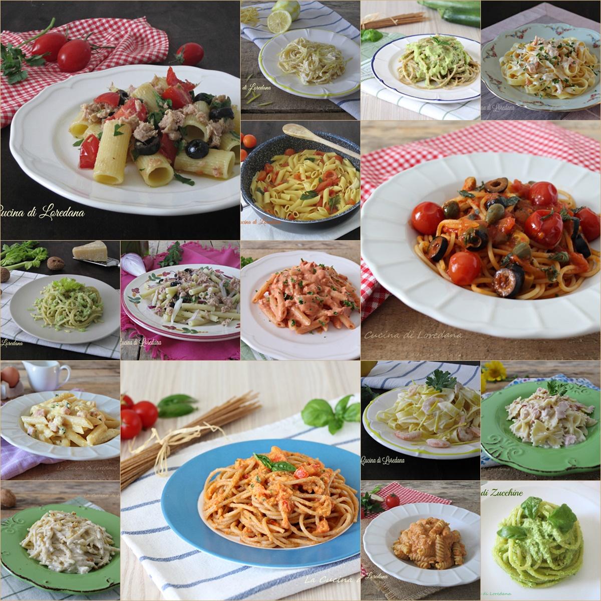 Primi piatti veloci per l 39 estate tante ricette da for Primi piatti semplici