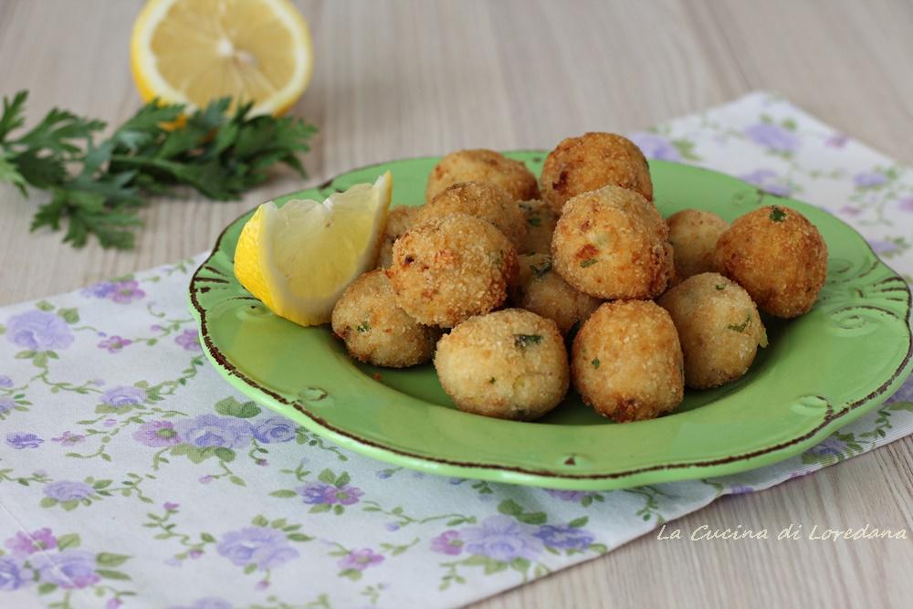 polpette di pesce e patate