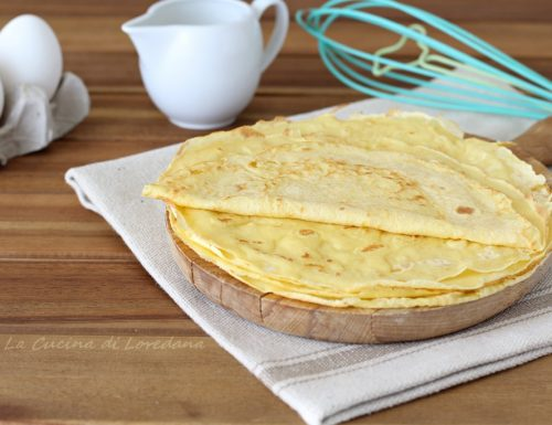 Crepes – Ricetta base