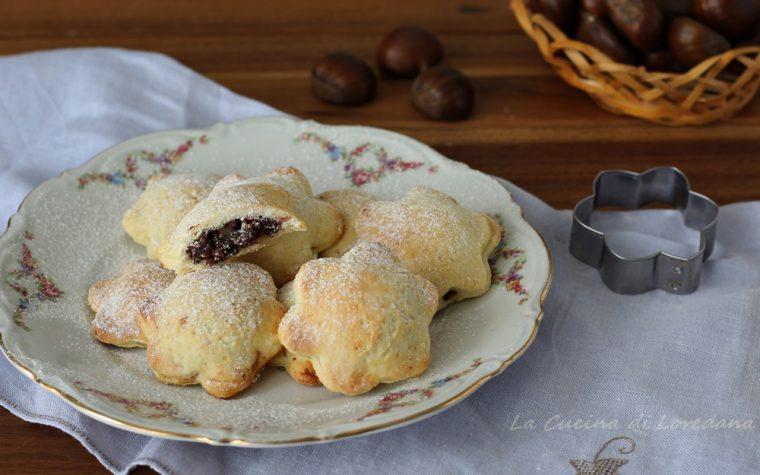 Biscotti con le castagne
