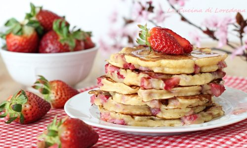 Pancake alle fragole