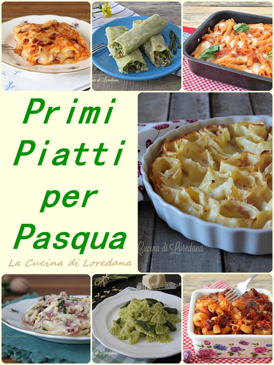 Primi piatti per pasqua semplici e squisite ricette for Primi piatti semplici