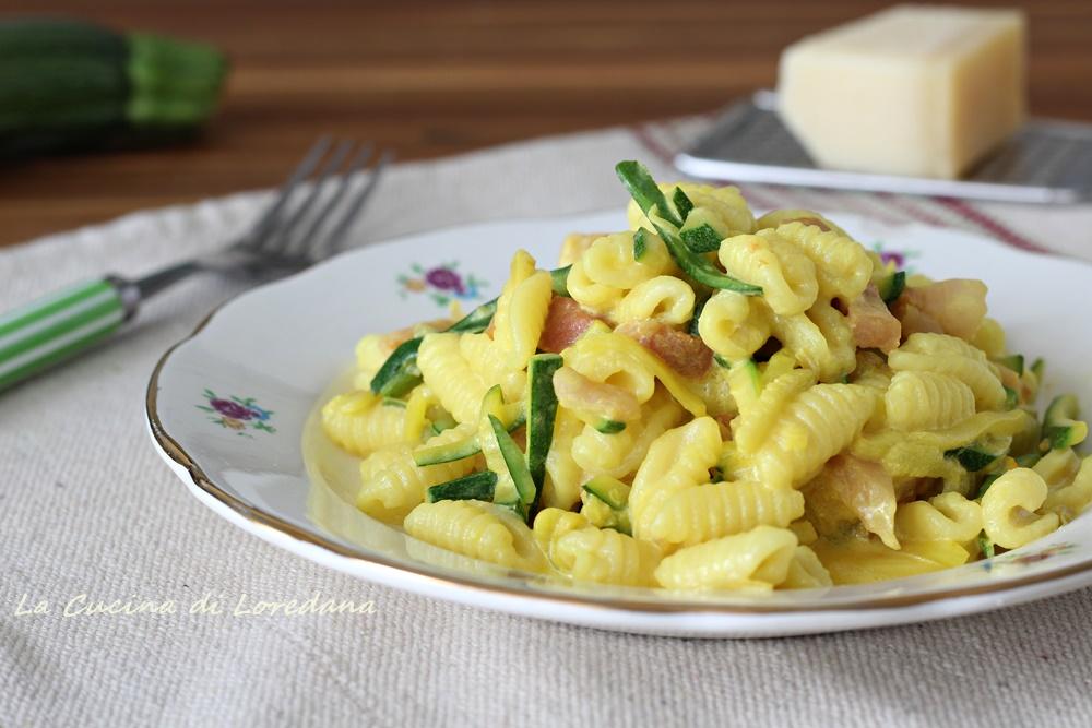 gnocchetti sardi con zucchine