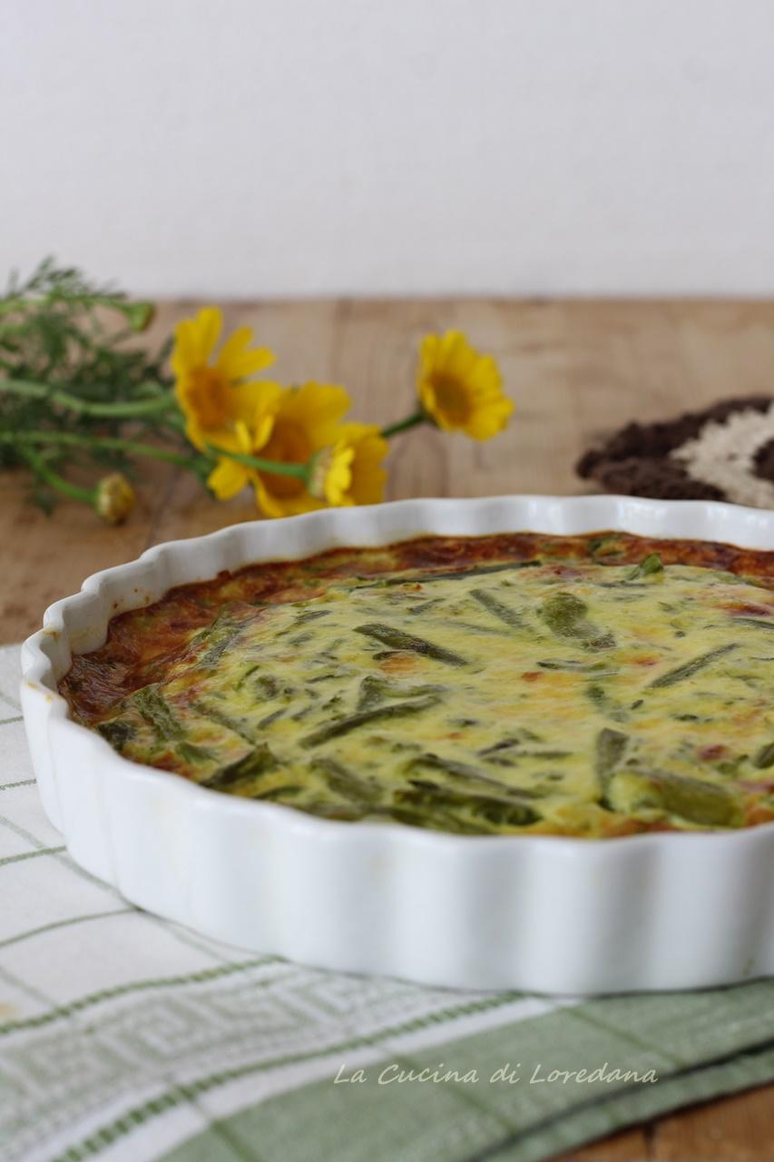 Frittata Con Asparagi Al Forno Soffice E Saporita
