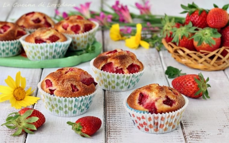 Muffin alle fragole