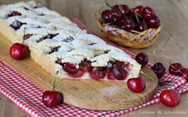 Crostata con ciliegie