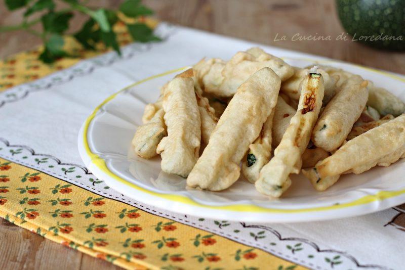 bastoncini di zucchine croccanti