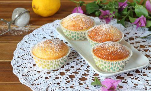 Muffin al limone sofficissimi
