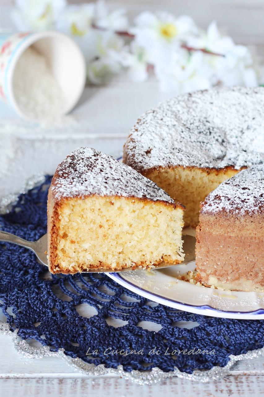 torta soffice al cocco