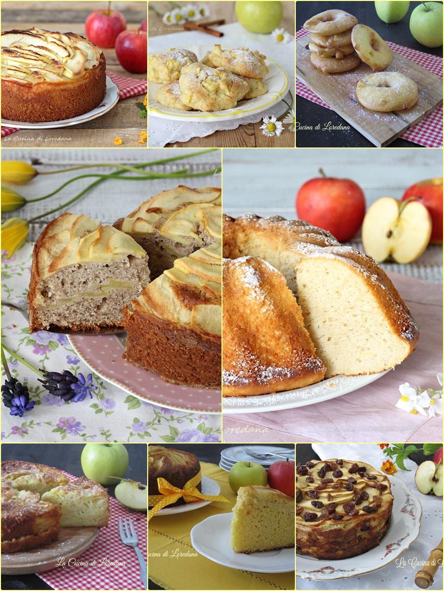 dolci con mele