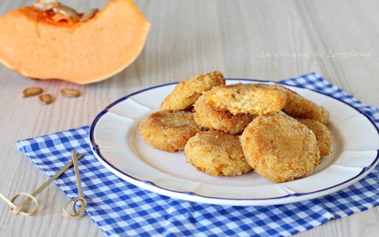 Polpette con zucca e patate