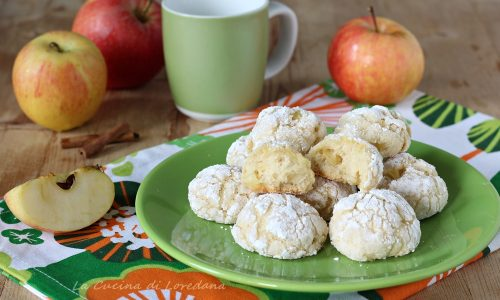 Biscotti morbidi alle mele
