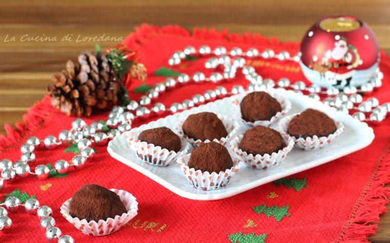 Tartufi al cioccolato e amarene
