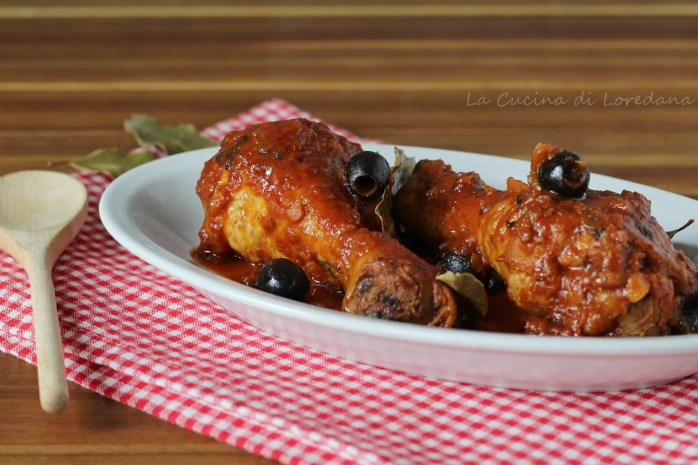 pollo in umido in padella