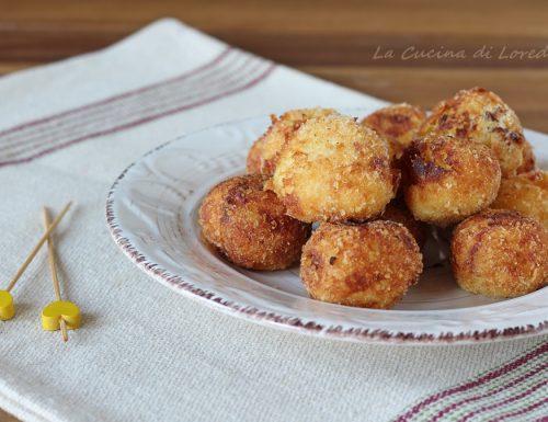 Polpette di patate e speck
