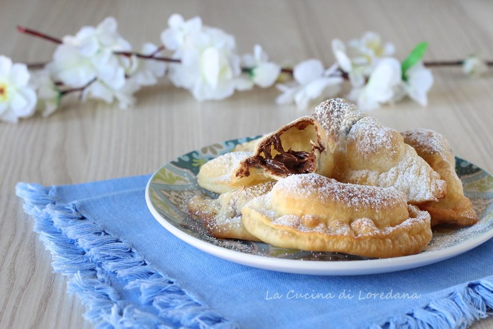 ravioli dolci con nutella