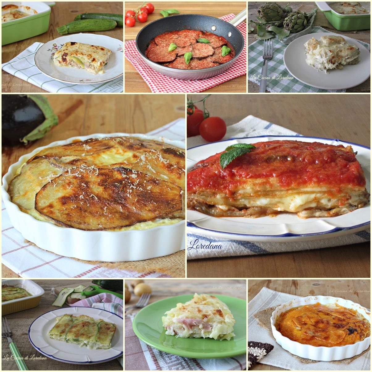ricette di parmigiana