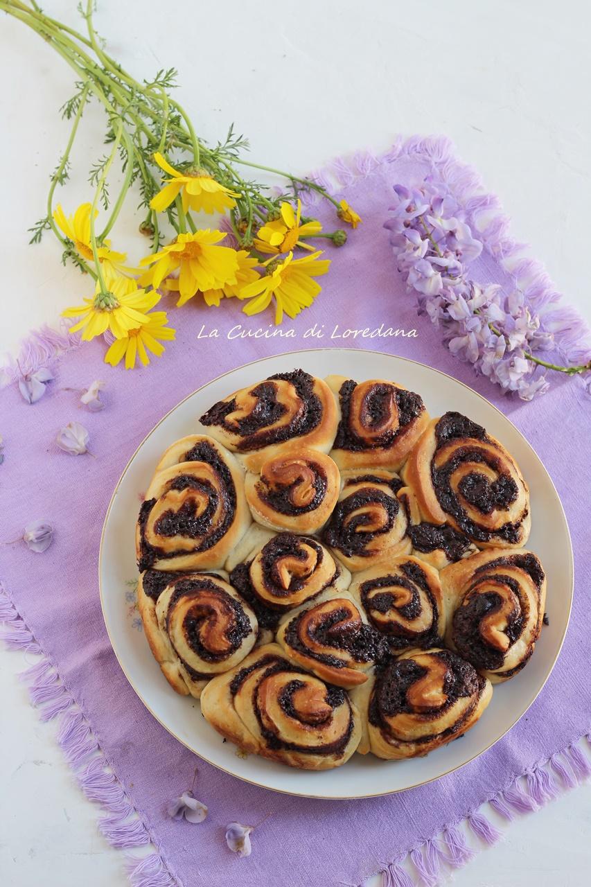 torta di rose con nutella