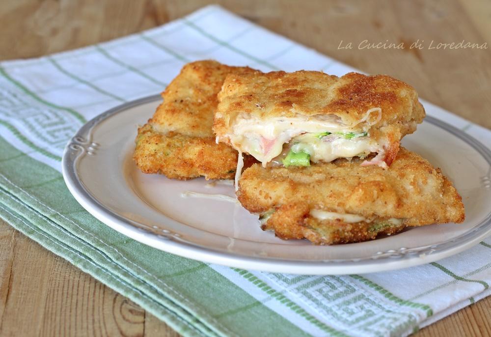 cotolette di pollo con zucchine