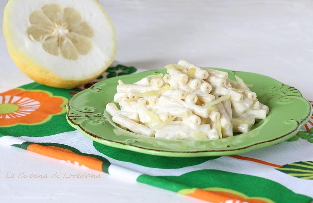 PASTA con CEDRO - Un primo piatto cremoso e squisito