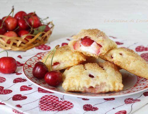 Sfogliatine con le ciliegie