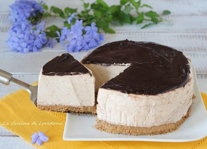 cheesecake al caffè cioccolato