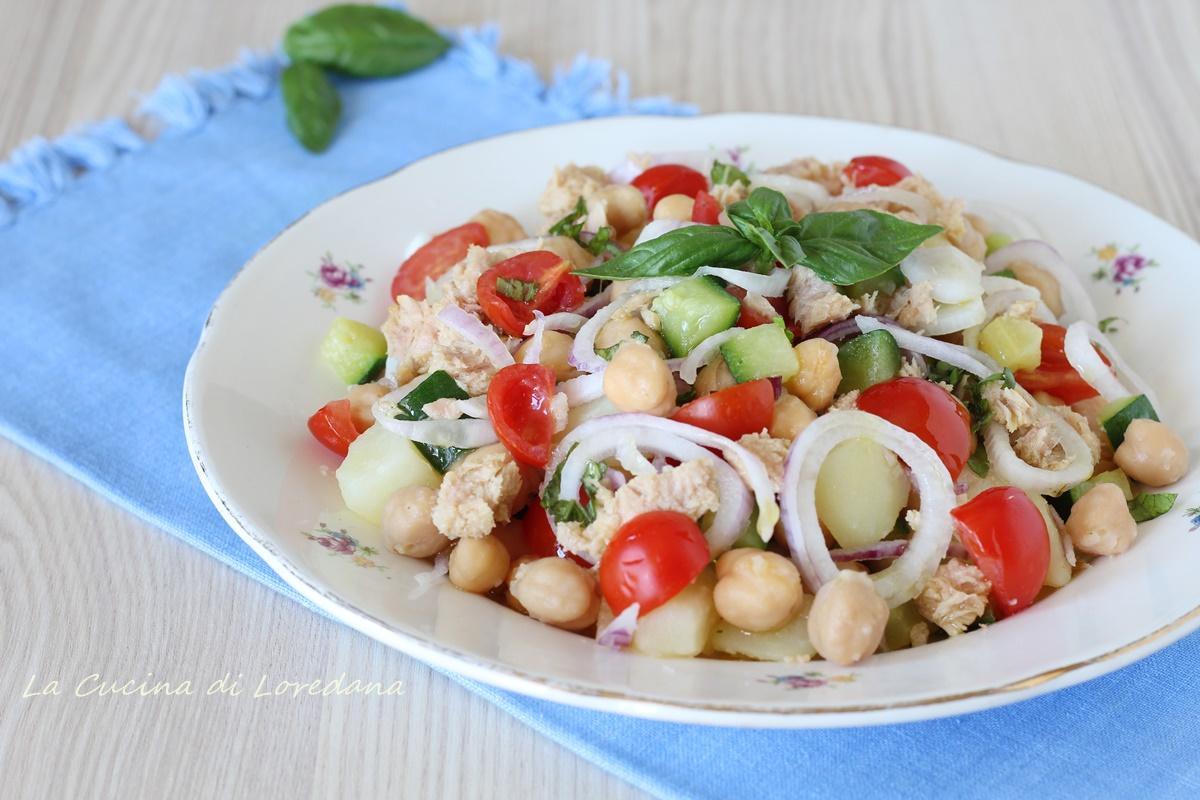 insalata di ceci con patate
