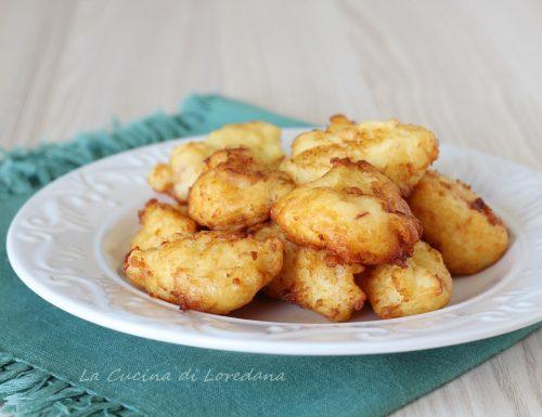 Frittelle di patate con speck