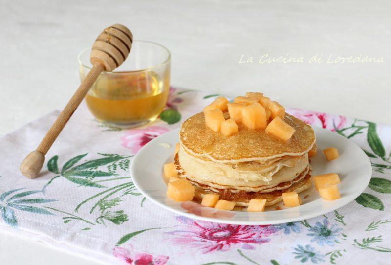 pancake al latte di riso