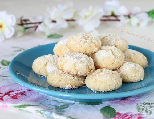Biscotti al cocco morbidissimi