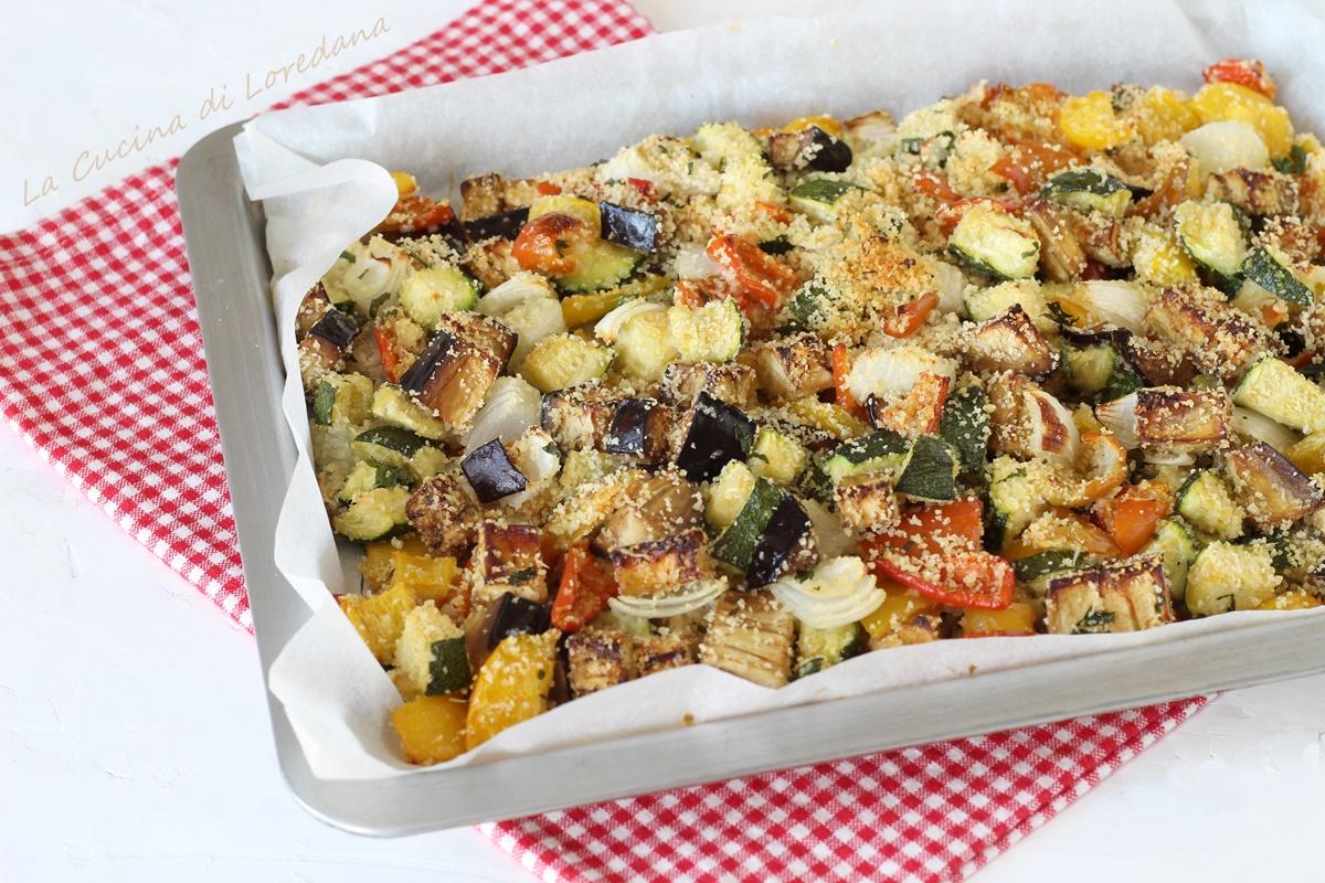verdure gratinate in forno