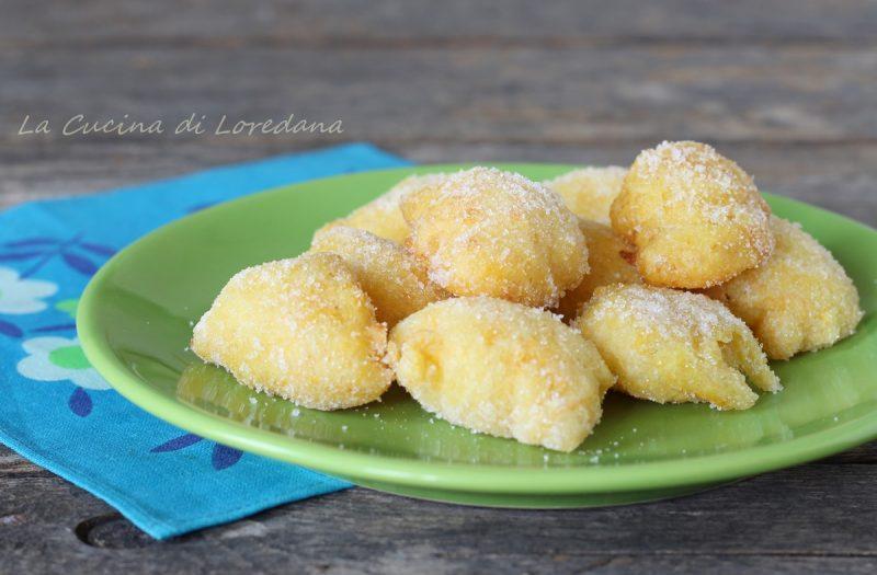 frittelle dolci con zucca