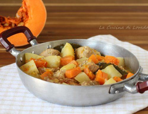 Spezzatino di vitello con zucca e patate