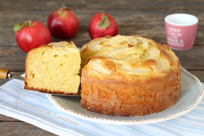 Torta di mele con mascarpone