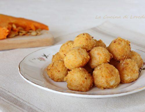 Polpette di patate e zucca