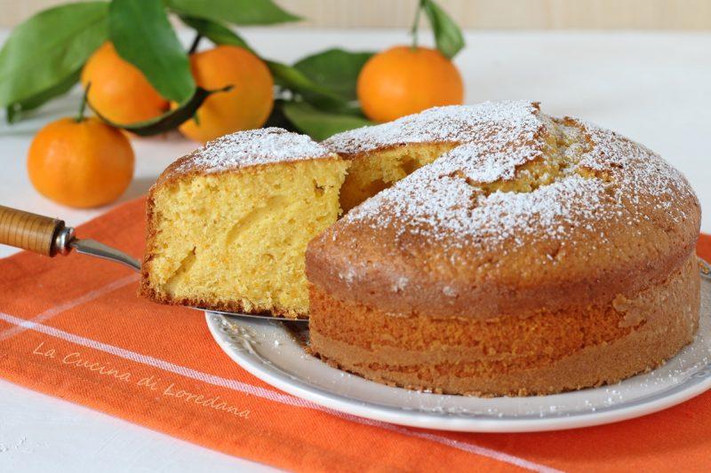 torta di clementine soffice