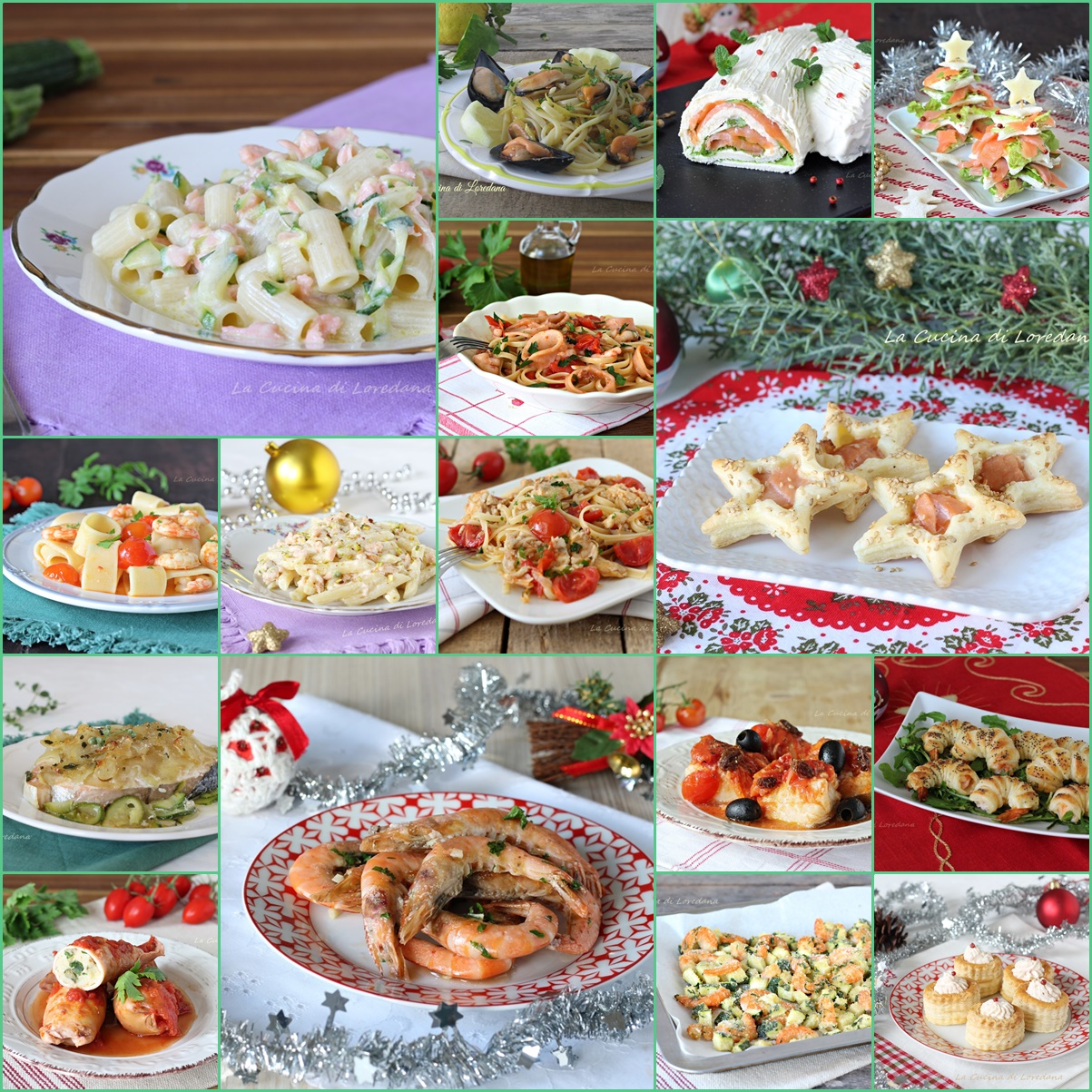 Cosa Cucinare Il 24 Dicembre menu' vigilia di natale - tante ricette semplici dal
