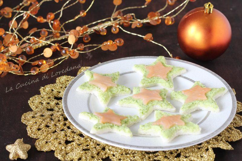 tartine zucchine e salmone