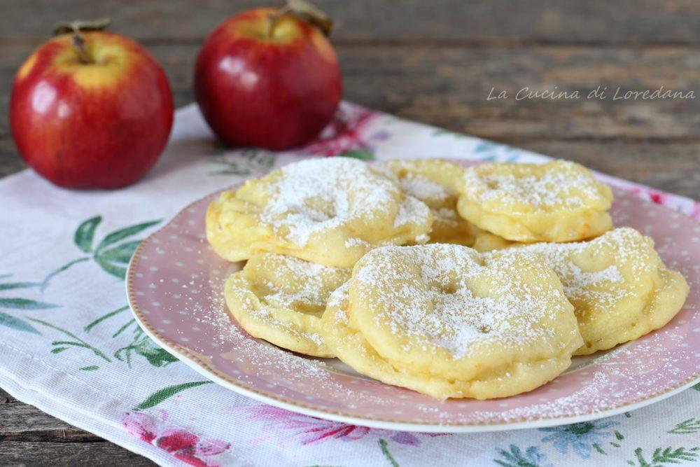 frittelle di mele al forno
