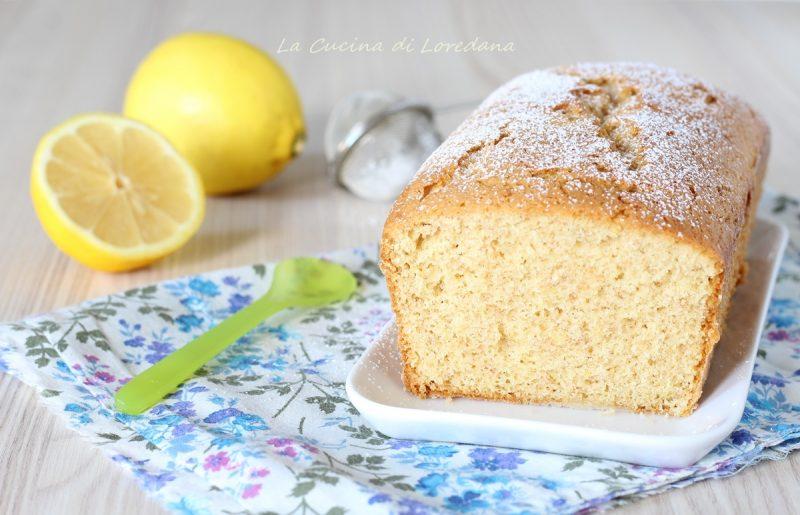 plumcake integrale al limone