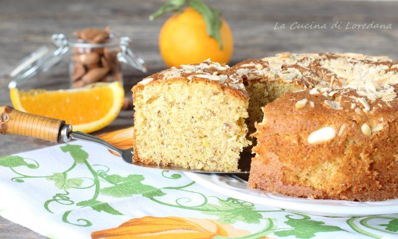 torta con arance e mandorle