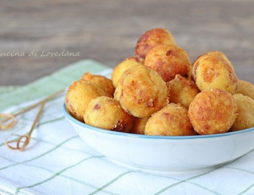 Palline di patate croccanti