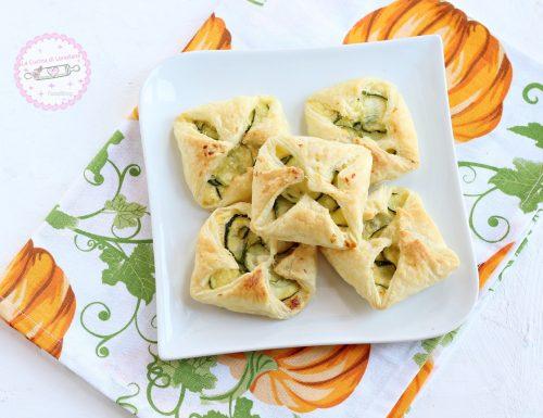 Sfogliatine con zucchine