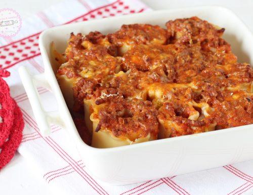 Rotolini di lasagne ricce ripiene