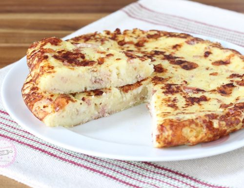 Torta di patate e speck