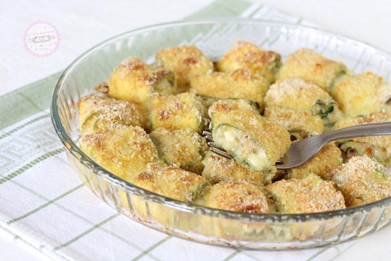 rotolini di zucchine ripieni