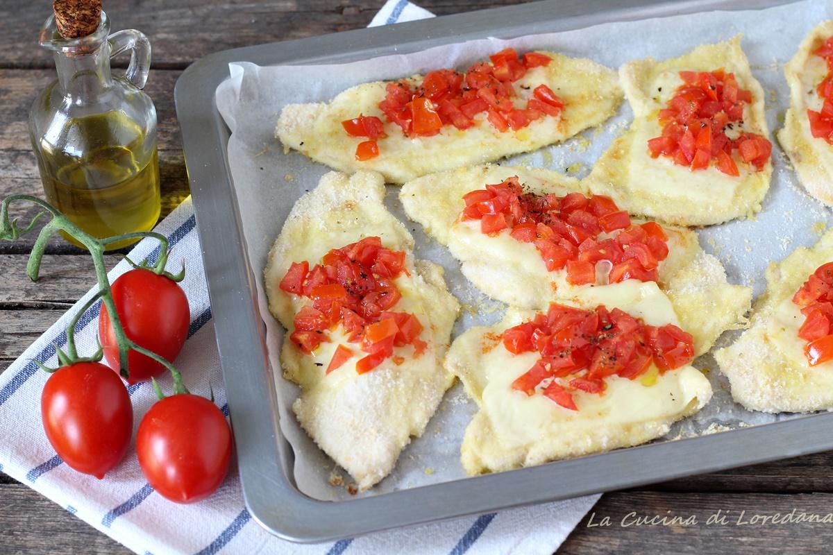 pollo al forno con pomodorini
