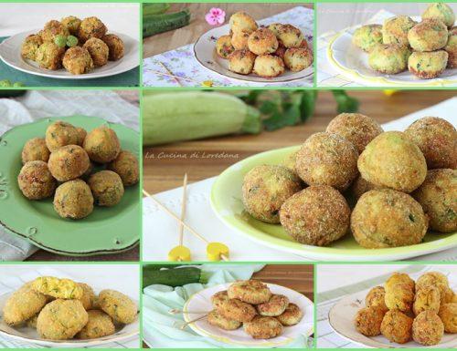 Ricette di polpette di zucchine