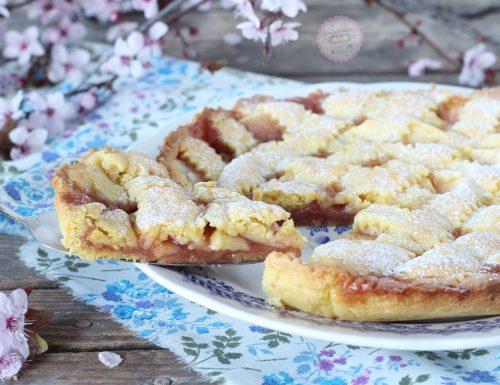 Crostata con mele e confettura